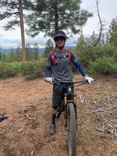 Kirk biking