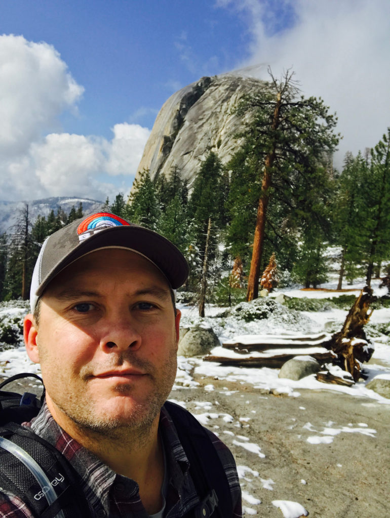 Steve-hiking